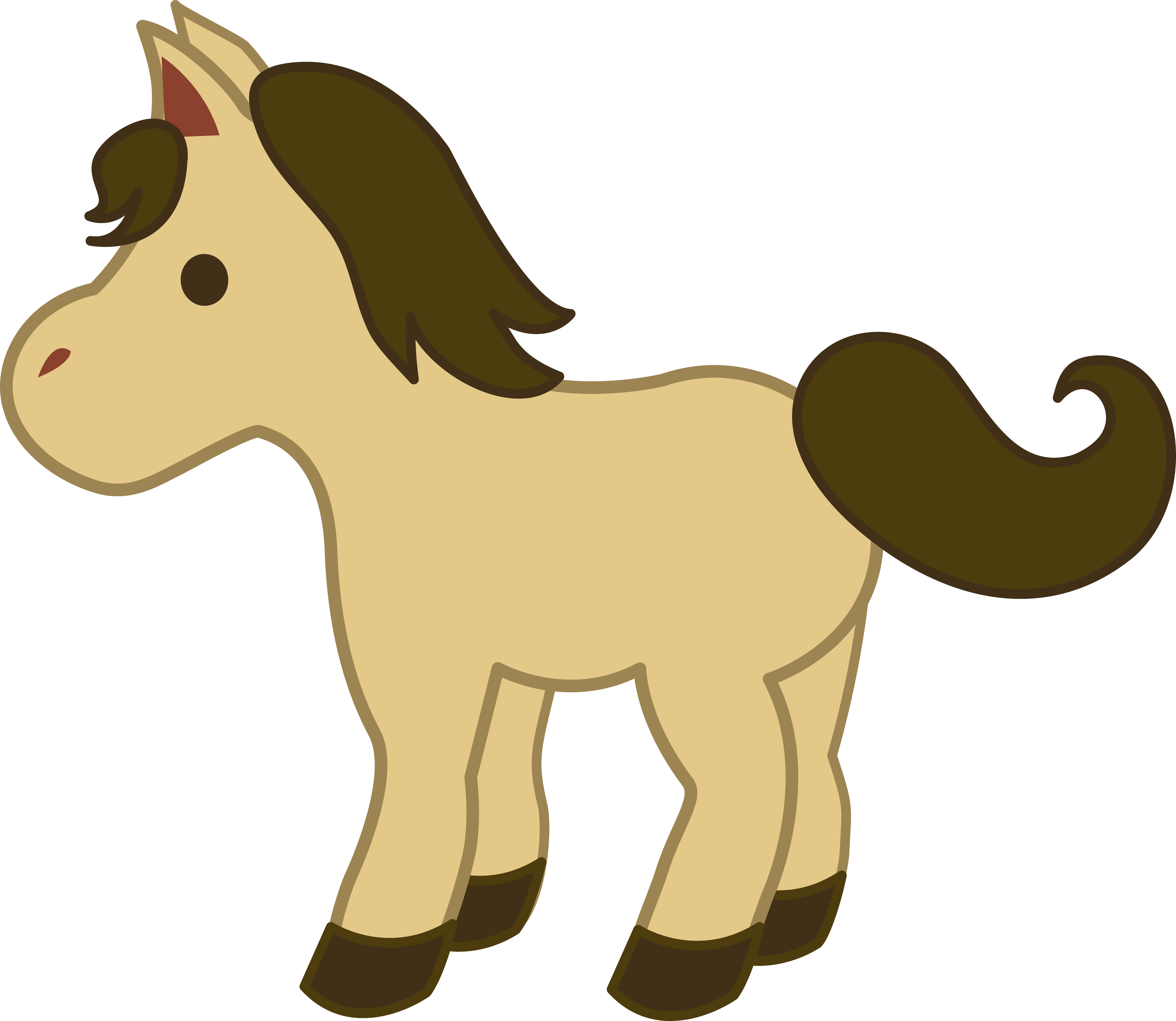 picture freeuse Baby horse clipart. Google image result for.