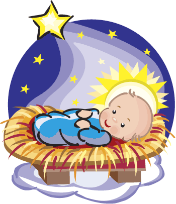 clipart freeuse Baby Jesus In The Manger Clipart at GetDrawings
