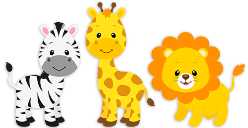clip art transparent library Baby jungle animal clipart. Sfari png pesquisa google