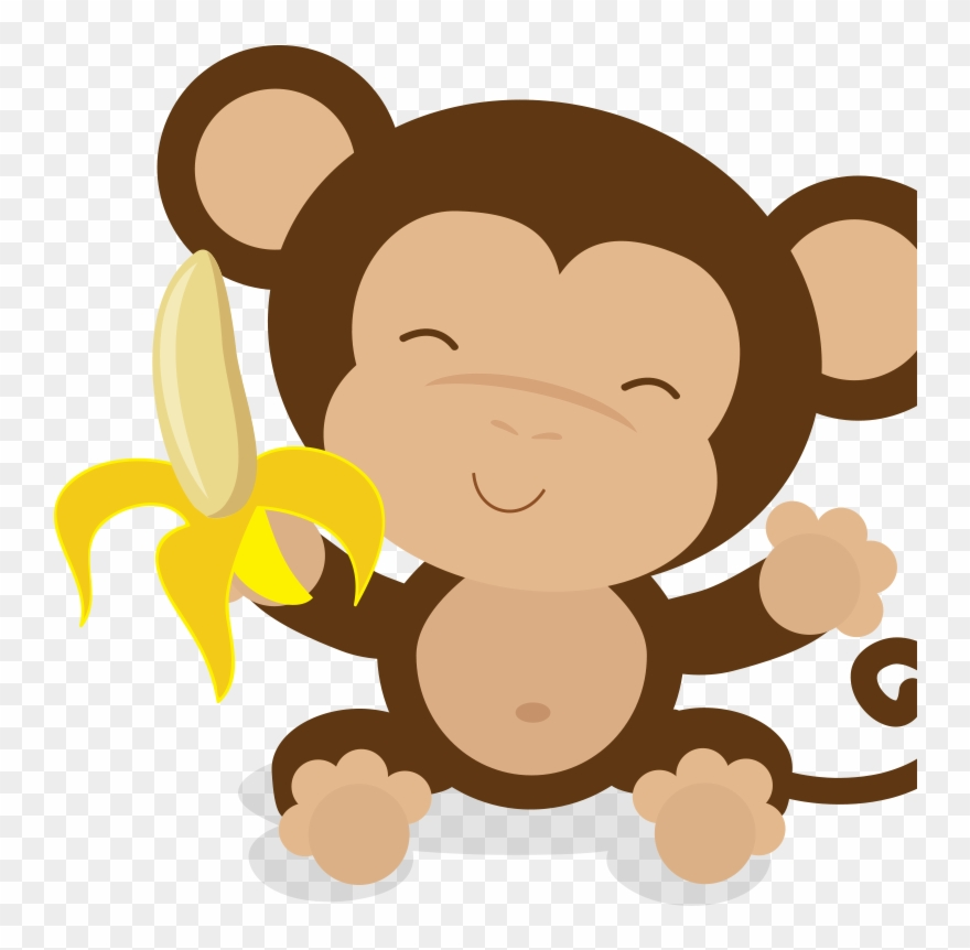 image Ape clipart baby. Dentistry shower monkey pinclipart