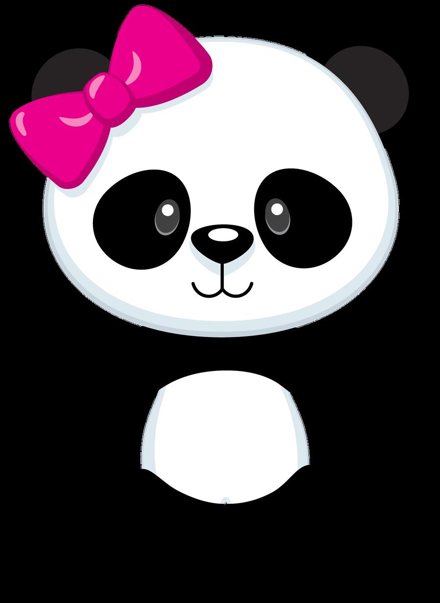 svg freeuse download Panda bear clipart. Pin by cecilia alburqueque
