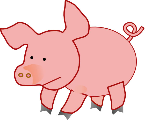 banner download Fat Baby Pig Clipart