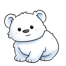 vector library stock Majorclanger co uk fluffimagesf. Baby polar bear clipart
