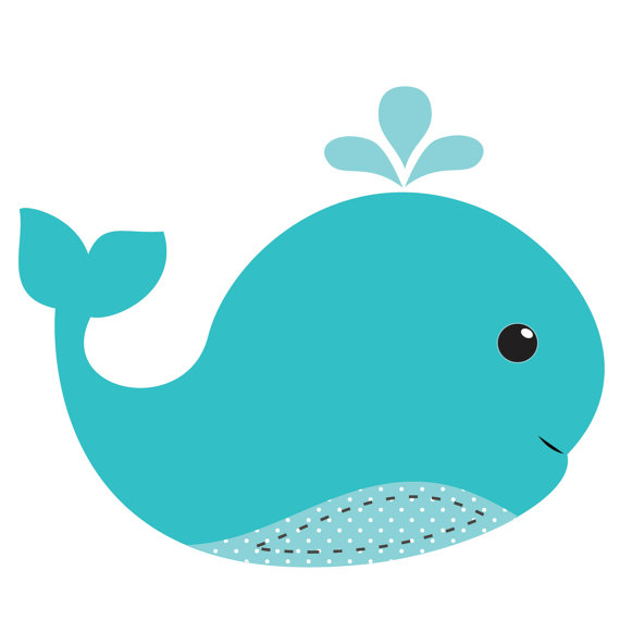 picture royalty free Free download best . Baby shower whale clipart