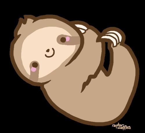 clip art transparent Clipart sloth. Transparent tumblr overlays pinterest.