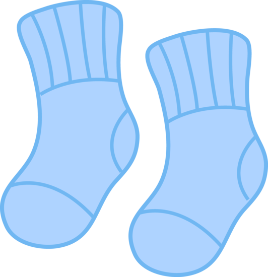 clipart transparent Baby Socks Clipart