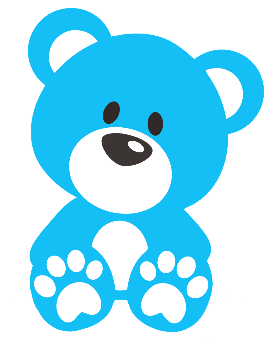 royalty free stock Cute bear clipart. Ursinhos e ursinhas minus
