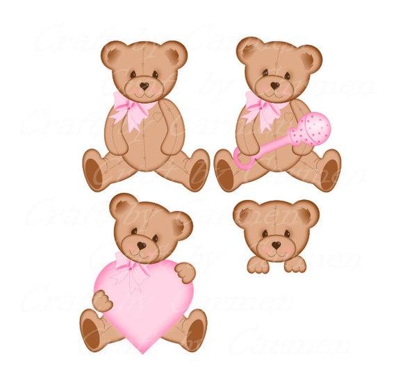 clipart transparent Clip art cute bears. Baby teddy bear clipart
