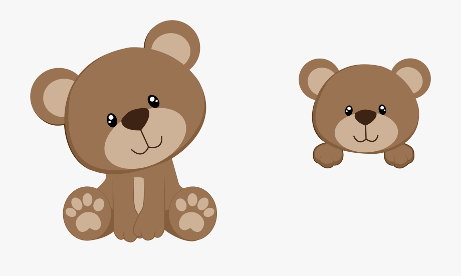 image royalty free Baby teddy bear clipart. Twins shower transparent background