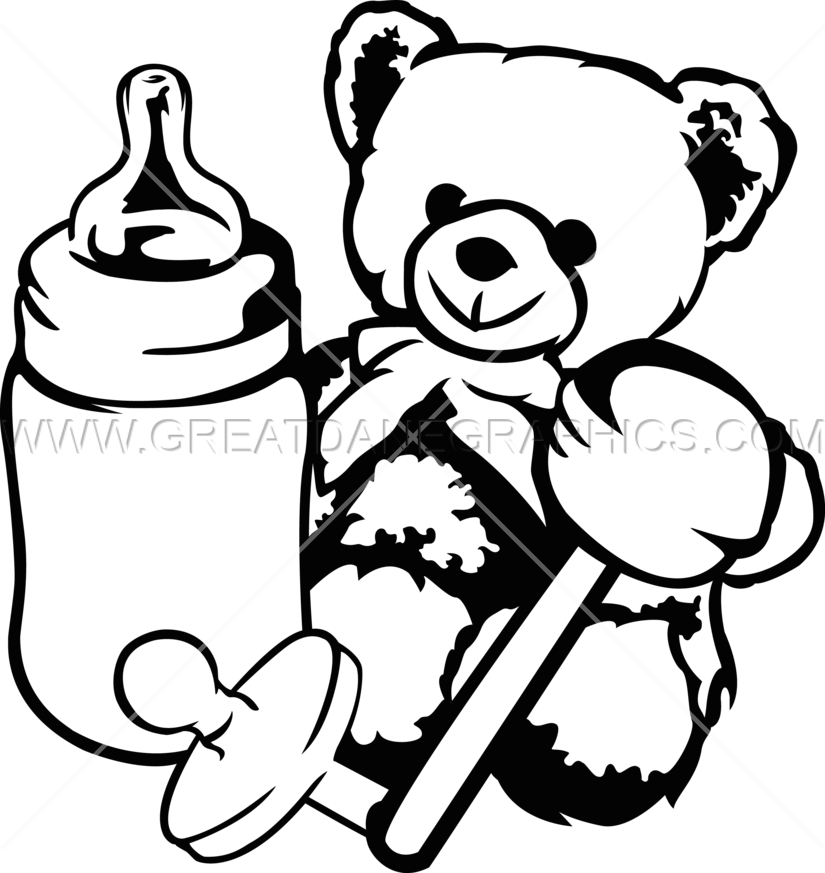 black and white pick up toys clipart black and white #59091962