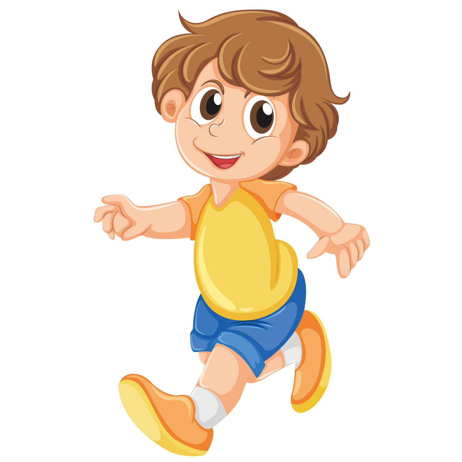 vector transparent download Boy . Baby walking clipart.