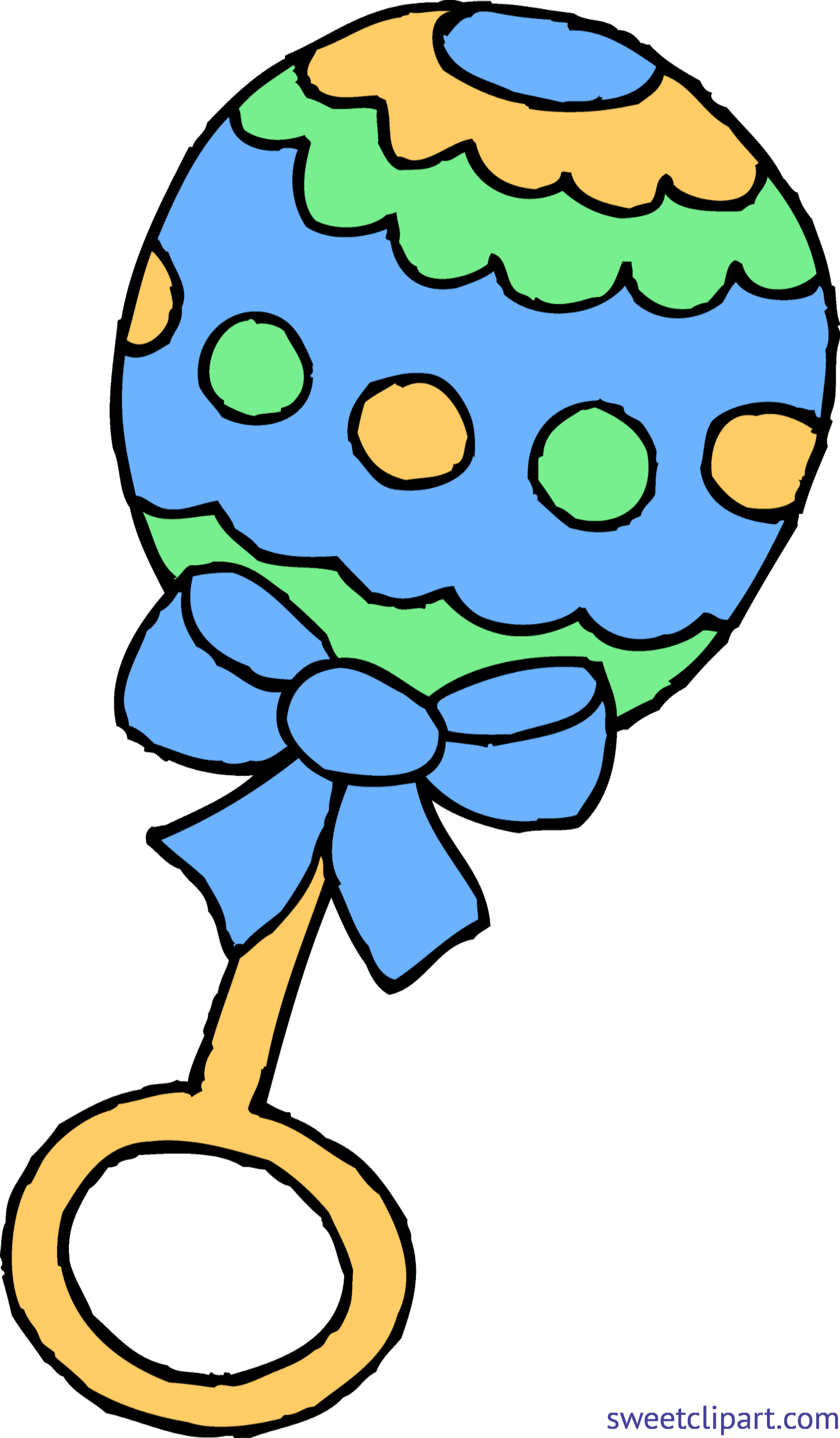 banner Baby walking clipart. Rattle boy blue clip