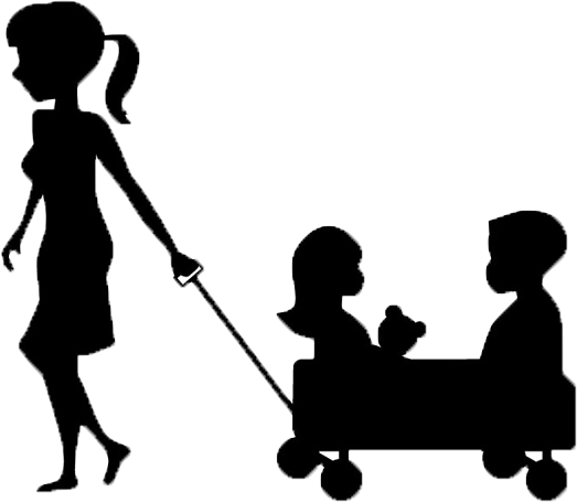 jpg transparent library  collection of high. Babysitting clipart black and white