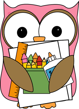 clip art library download Librarian clipart school personnel. Owl supply monitor clip.