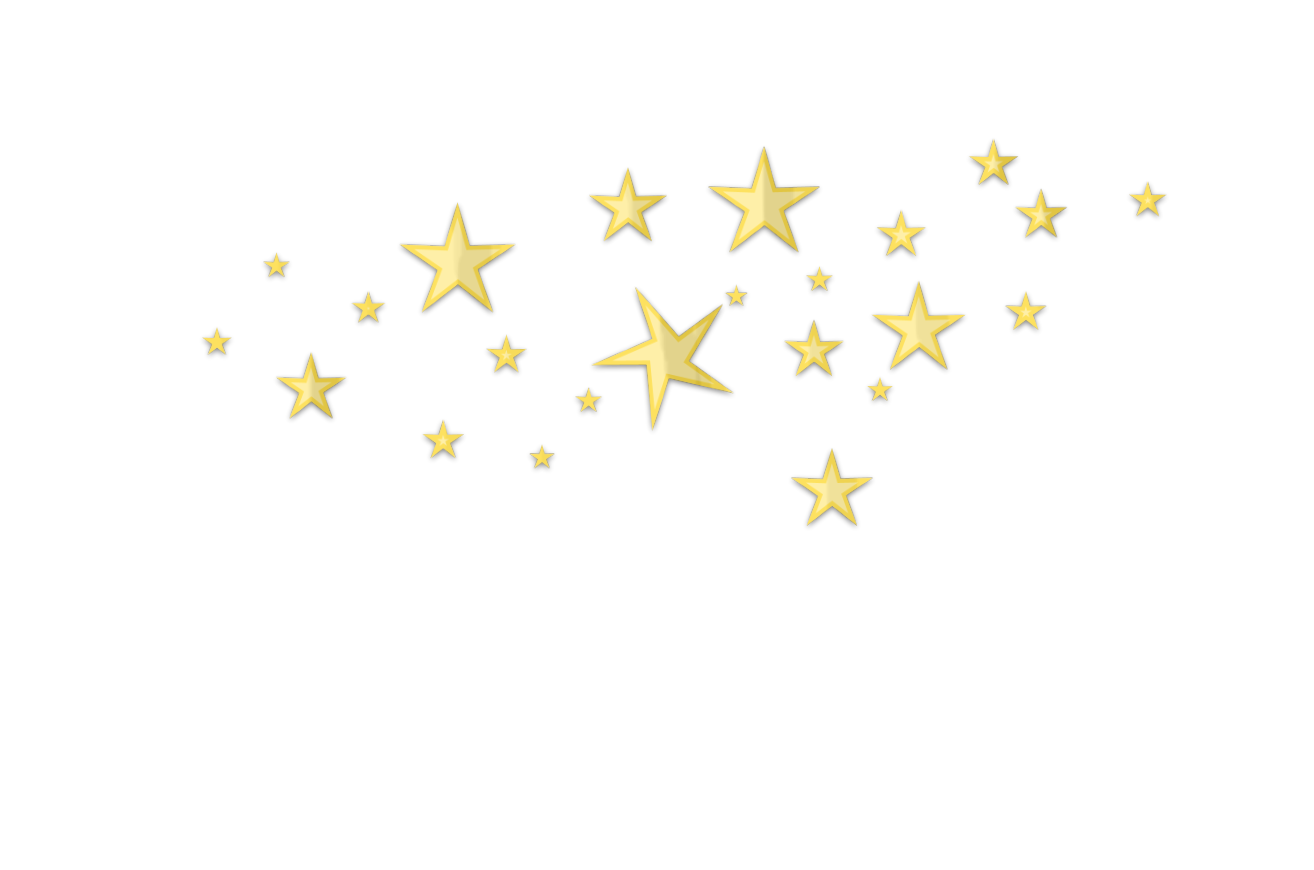 clip art black and white Star d clutter gold. Transparent lights golden.