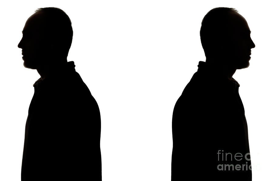 banner royalty free Back clipart man back. Free silhouette download clip.