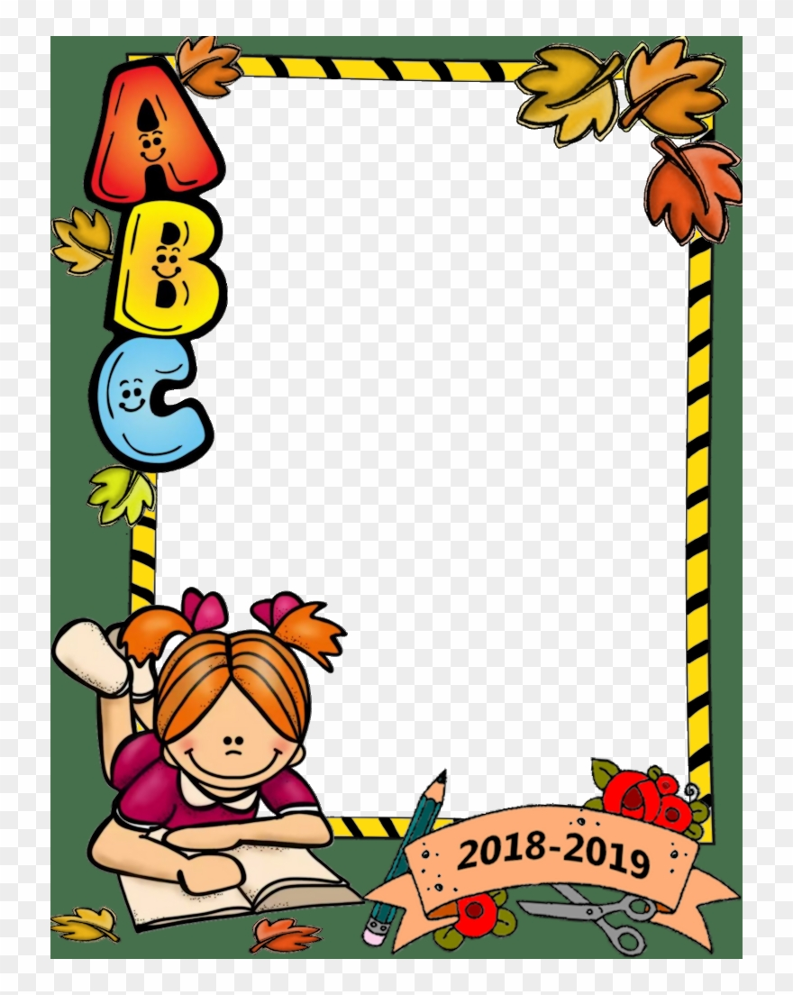vector freeuse Border images beginning of. Back to school clipart borders