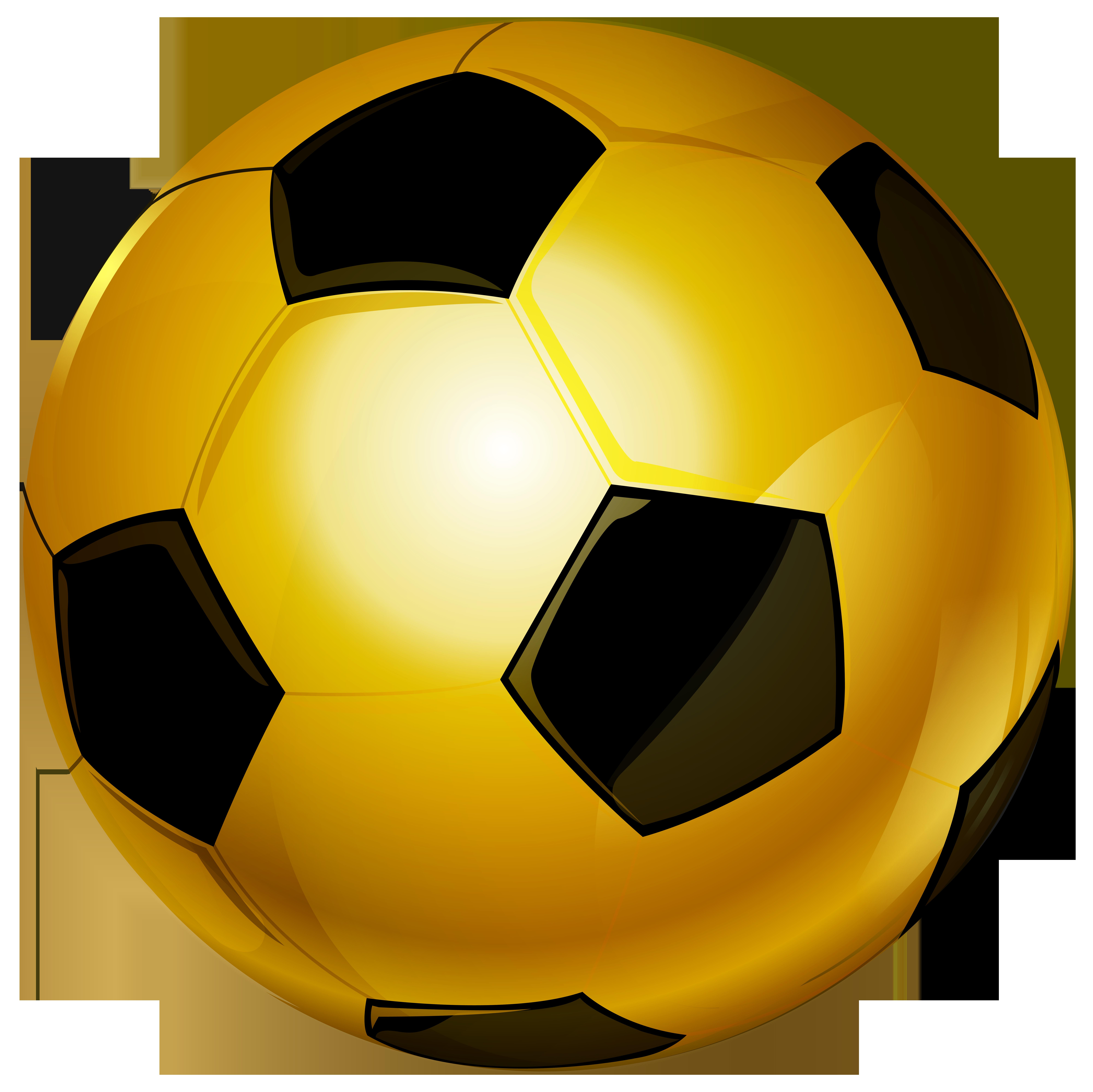 vector transparent download Ball transparent gold. Soccer png clip art