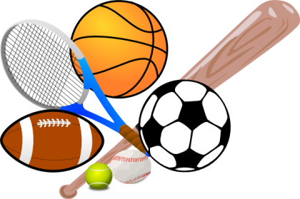 clipart black and white download Background clipart sport.  collection of sports.