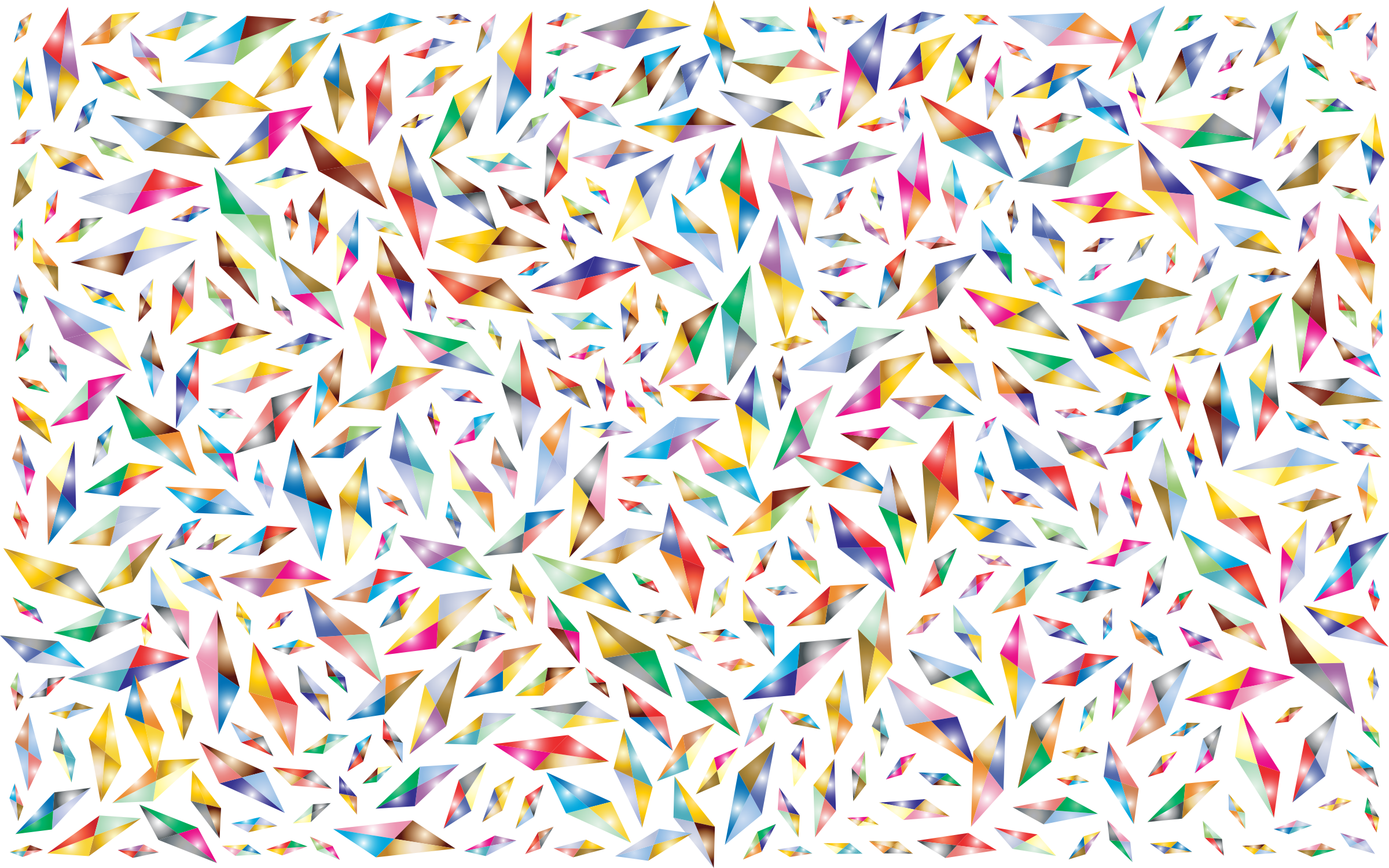 clipart free download Background clipart sprinkle. Prismatic abstract geometric diamonds.