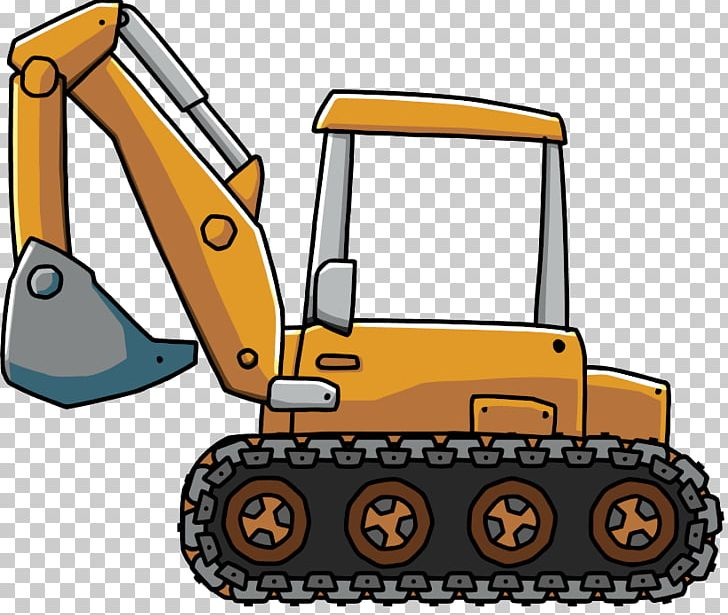 image transparent Backhoe clipart. Caterpillar inc loader jcb