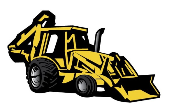 graphic free Backhoe clipart. Free cliparts download clip.