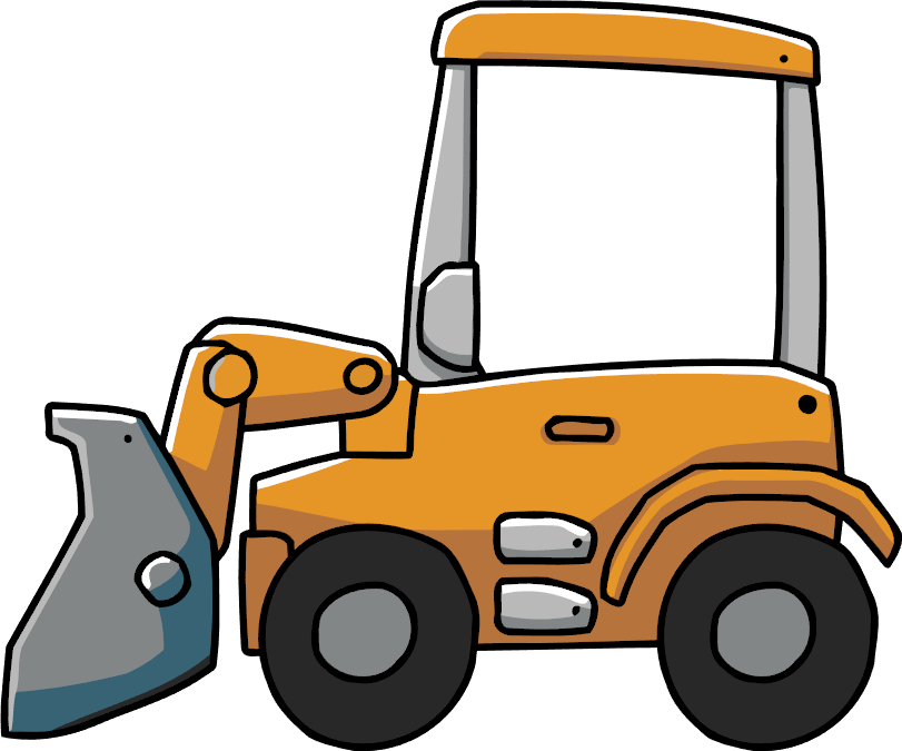 clip art freeuse library Bulldozer