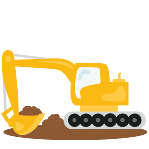 png royalty free download Bulldozer clipart excavator bobcat. Svg scrapbook cut file.
