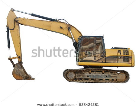 clipart free download Collection of free dozed. Backhoe clipart digger