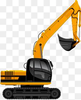 svg freeuse Backhoe clipart digger. Excavator png vectors psd