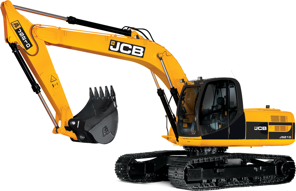 picture transparent library Excavator png images free. Bulldozer clipart digger jcb