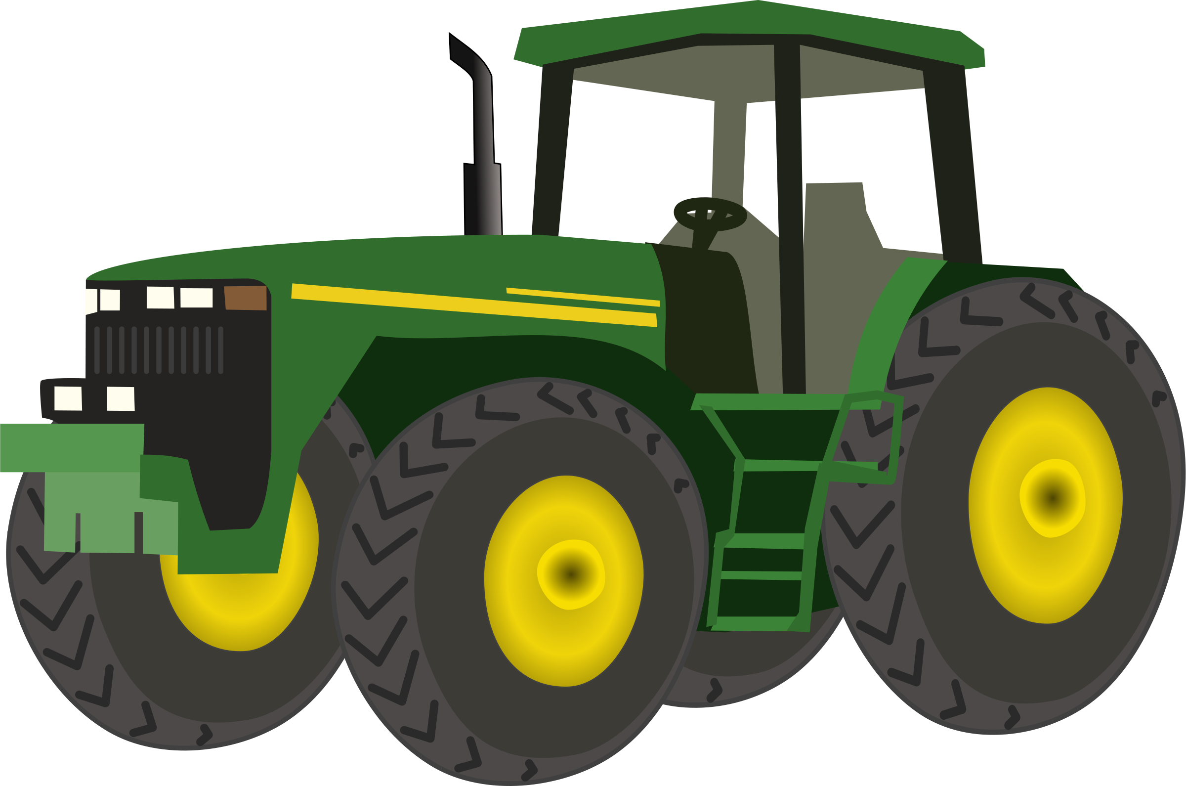png royalty free download John deere clipart hand. Tractor clip art png