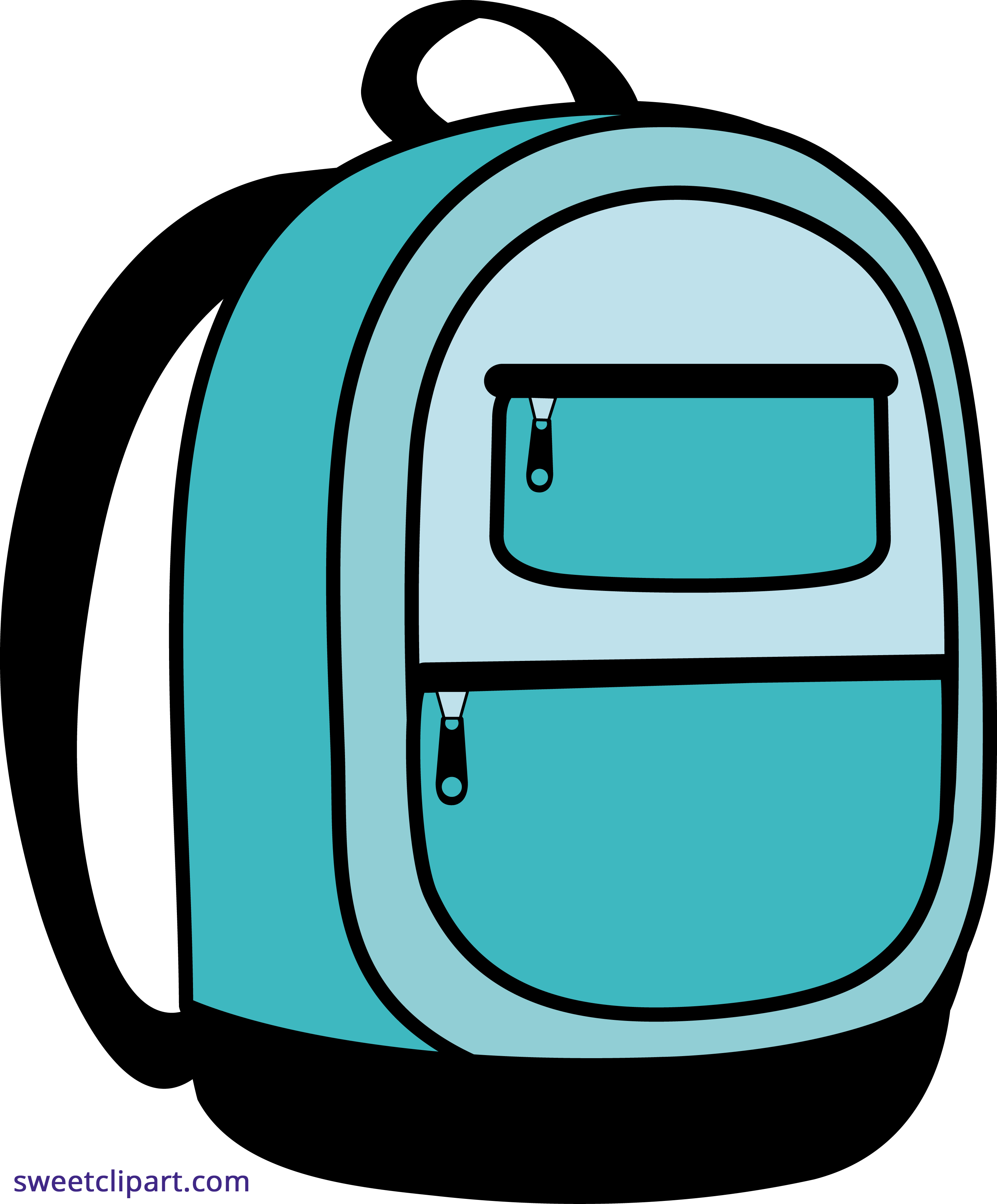 banner royalty free Blue school sweet clip. Backpack clipart.