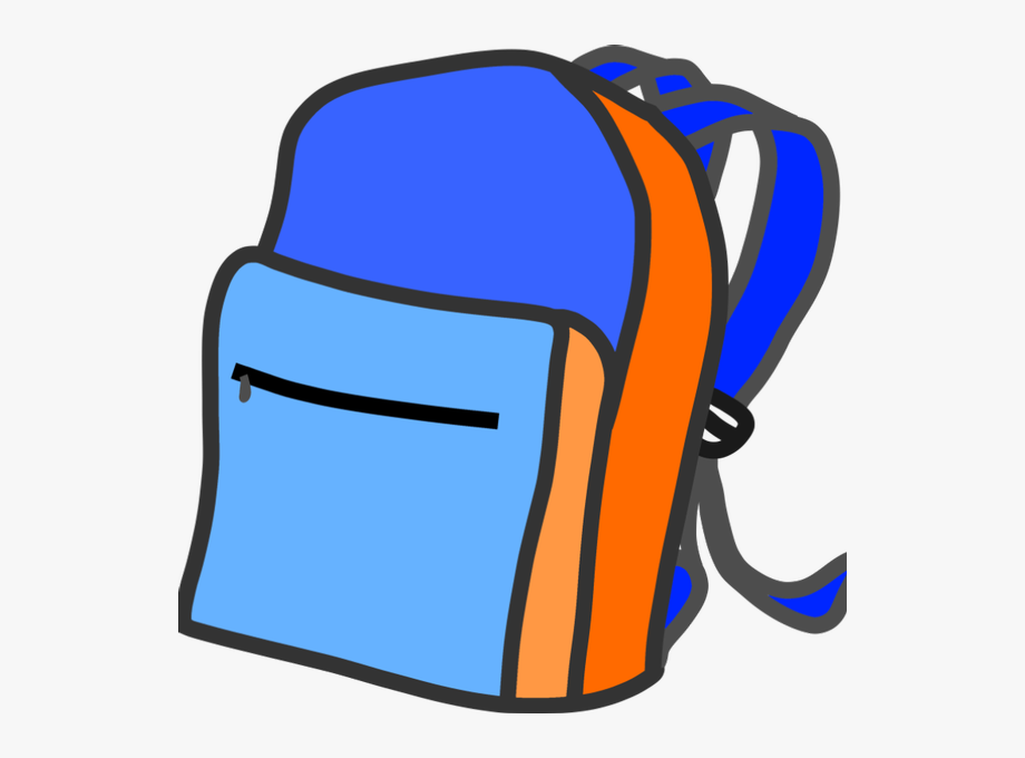 clip art freeuse library Backpack clipart. Giveaway transparent background .