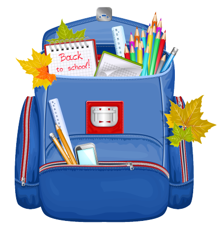 graphic Ready free on dumielauxepices. Bookbag clipart blessing backpack