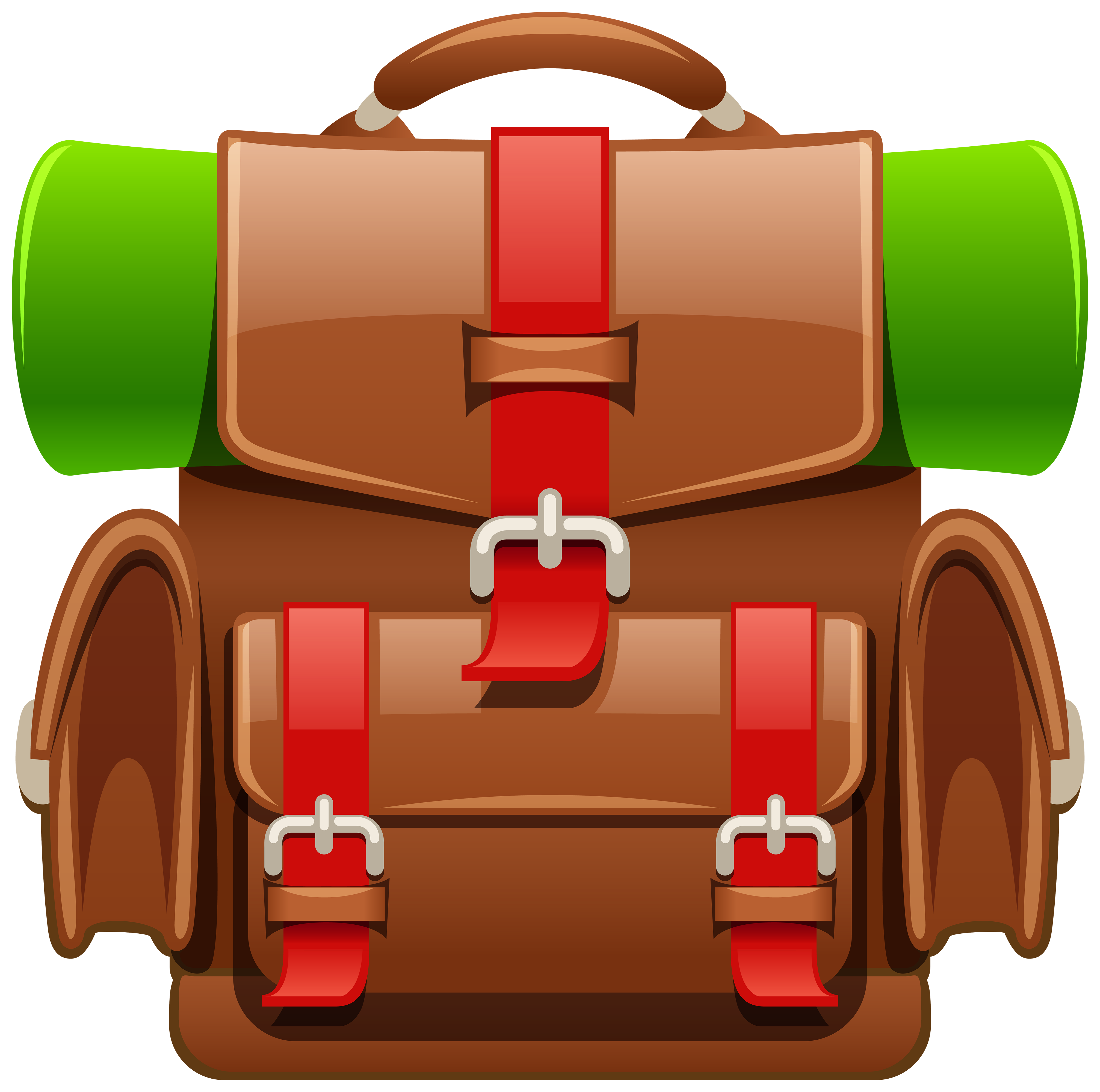 clipart freeuse download Photograph clipart tourist. Brown backpack png image.