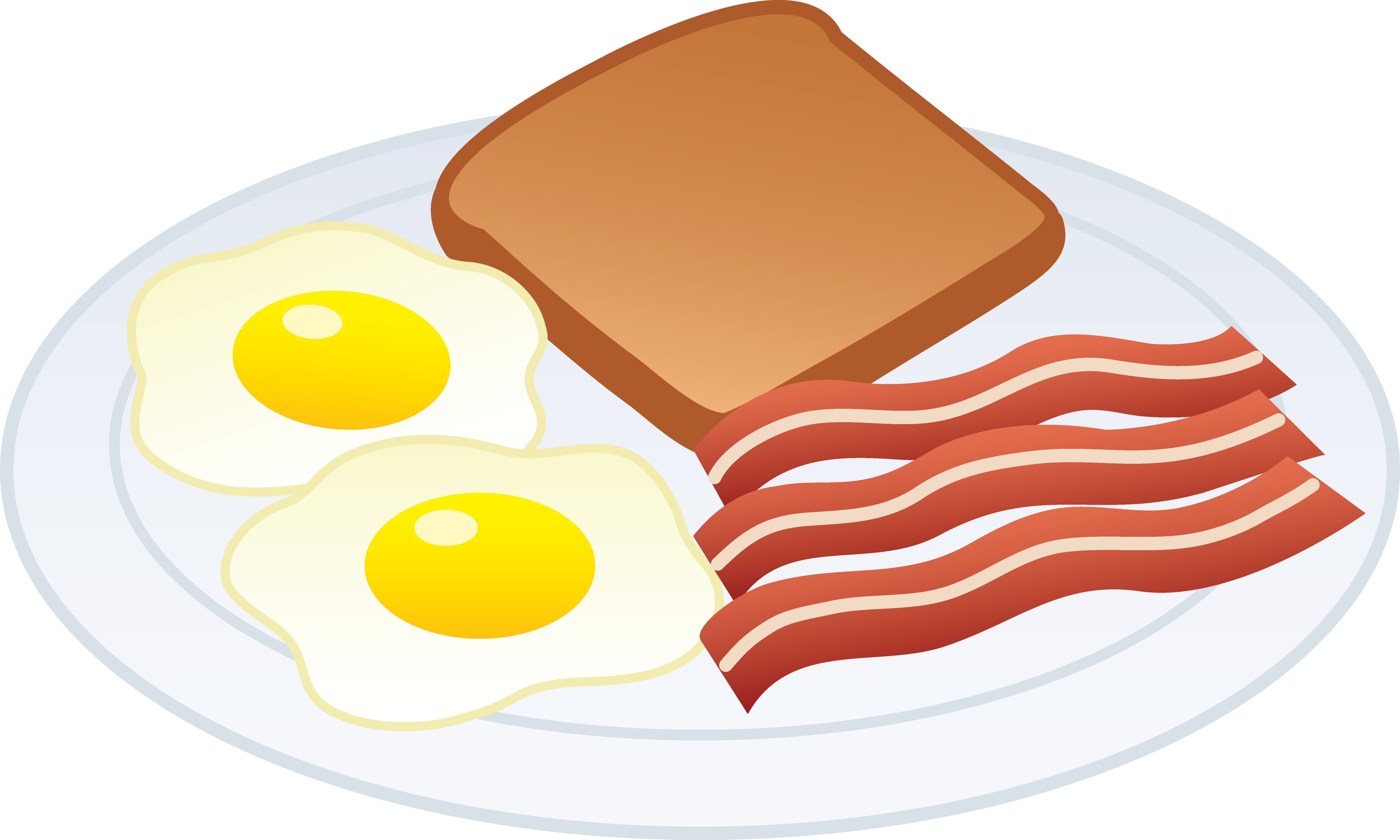 picture freeuse Clip art free breakfast. Fried clipart cute