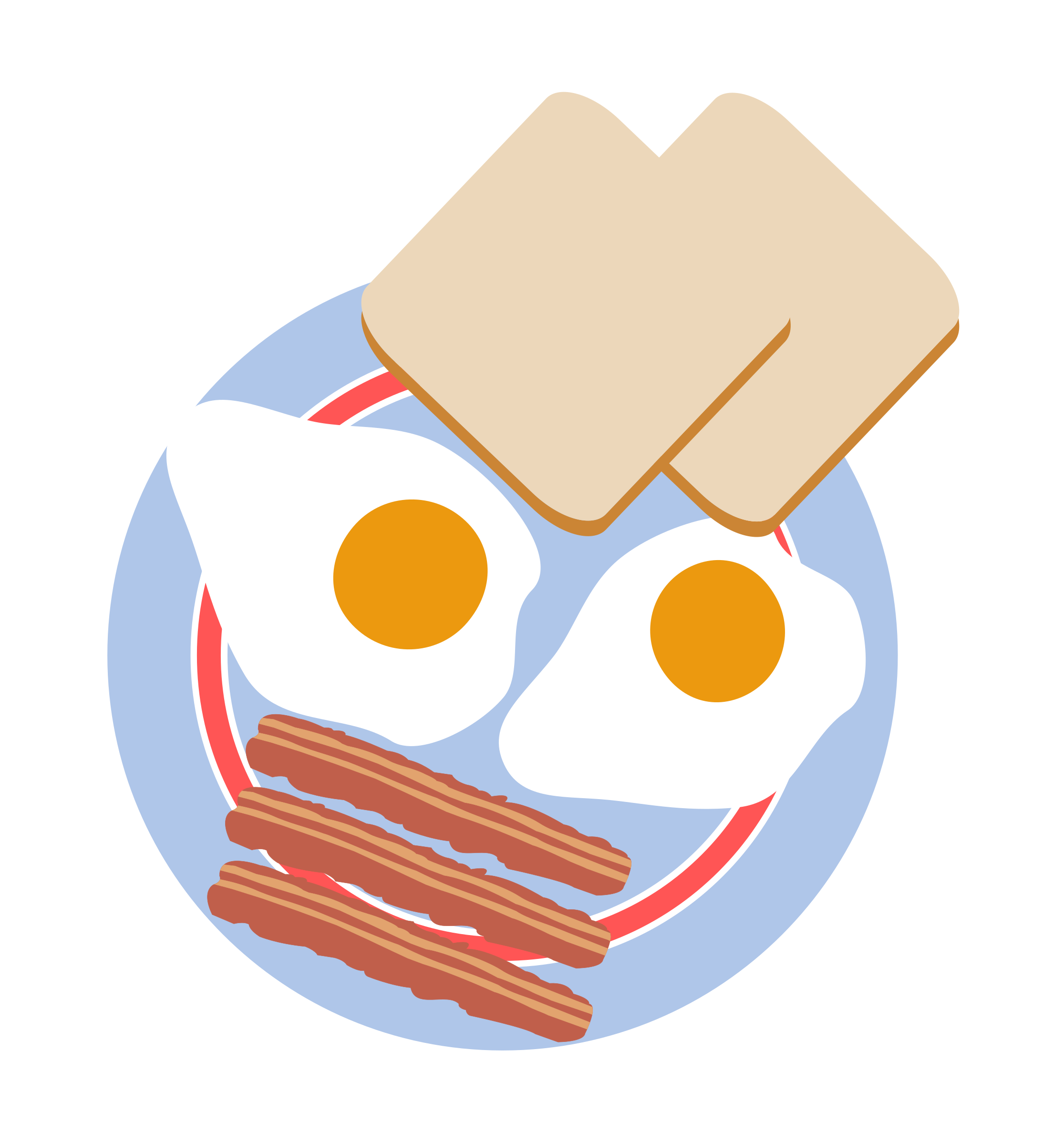 black and white stock Toast clipart egg.  collection of bacon.