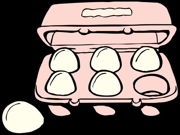 jpg download Carton Of Eggs Clipart