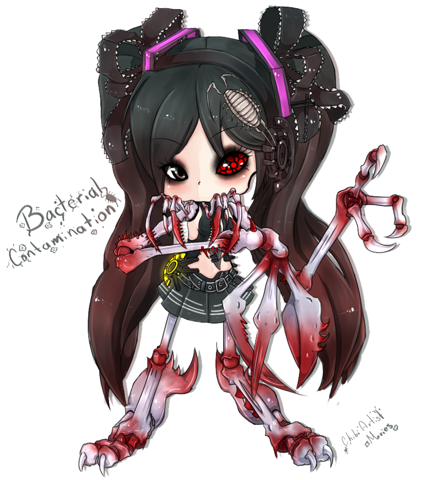 svg transparent stock Miku drawing bacterial contamination. Chibi by ivonnefish on
