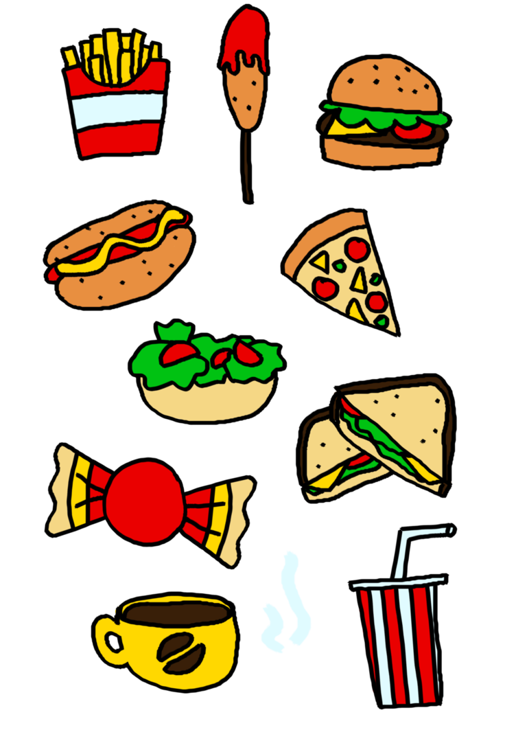 picture free Food Clipart by EllieJoy on DeviantArt