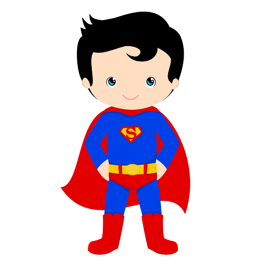 png royalty free download Hero child free on. Brave clipart superboy