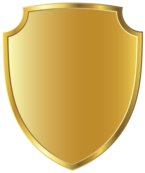 download Gold Badge Template PNG Clipart Image