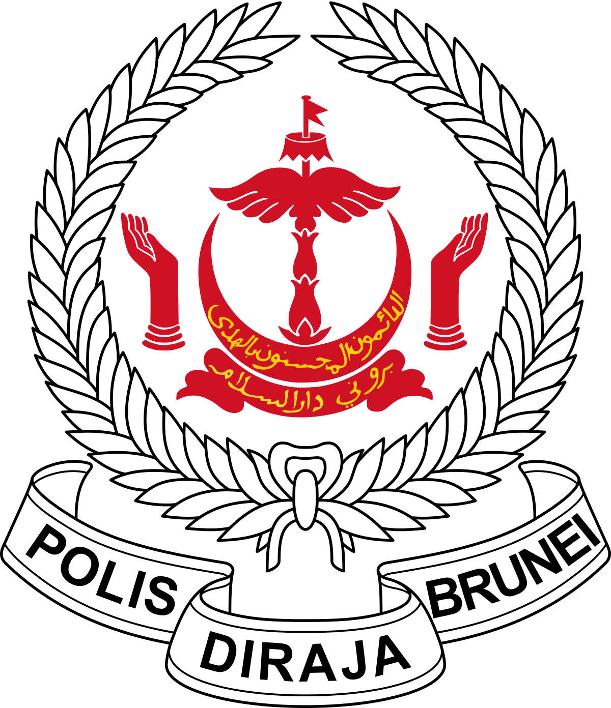 banner free Brunei police force wikipedia. Marine drawing royal