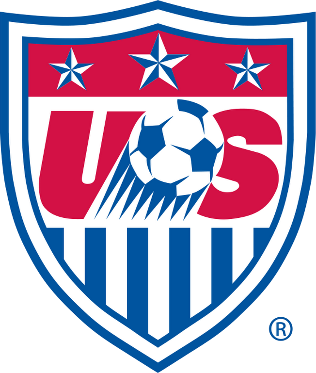 graphic download Vector emblem soccer crest. United states federation logopedia