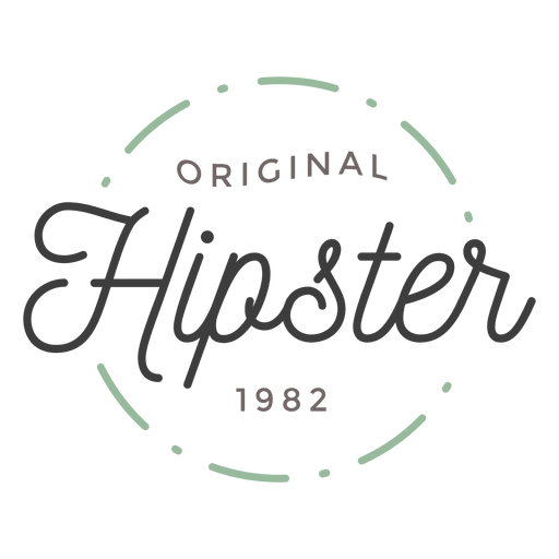 clipart free stock Hipster logo