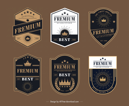 clipart freeuse Badge svg illustrator. Adobe template free vector