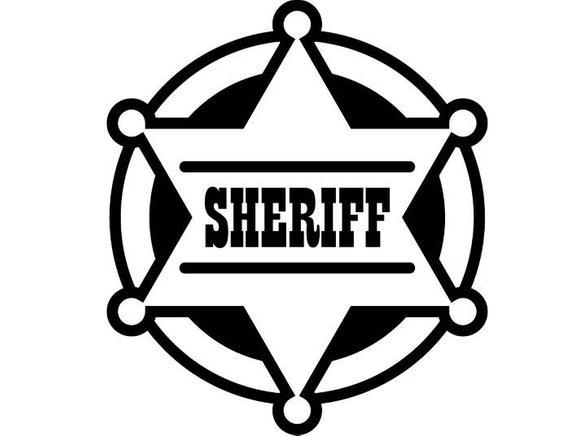 jpg stock Cowboys vector badge. Sheriff cowboy western rodeo