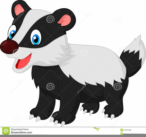 graphic library Badger clipart animated. Cartoon free images at