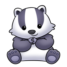 svg transparent library Badger clipart animated. Free on dumielauxepices net
